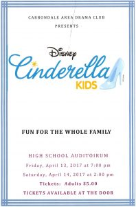 CA Drama Clubs Production of Cinderella – Replay