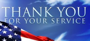 Thank You For Your Service – Care Package Fund Drive