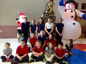 1st-3rd Grade Citizens of the Month for November