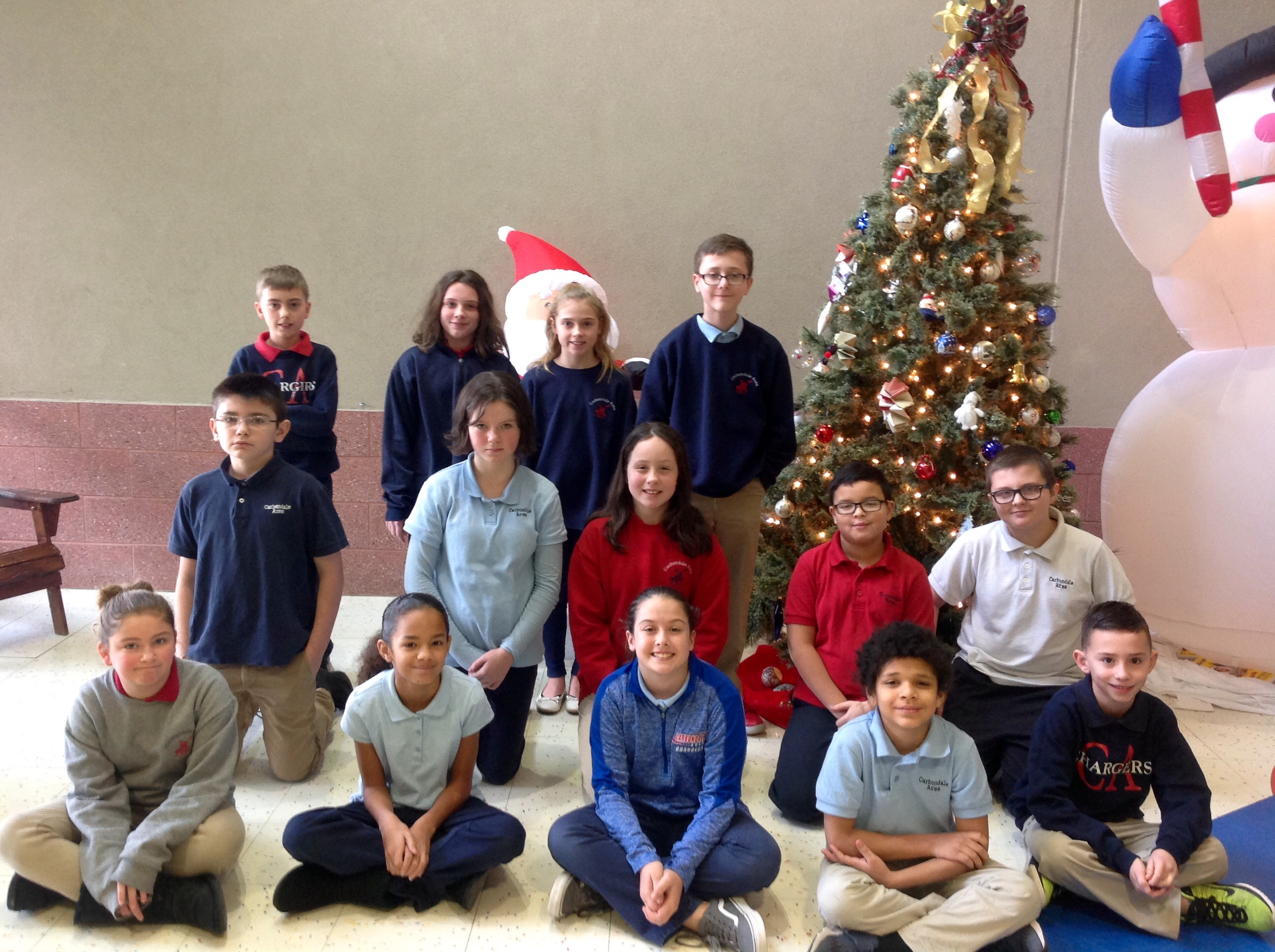 4th-6th Grade Citizens of the Month for November