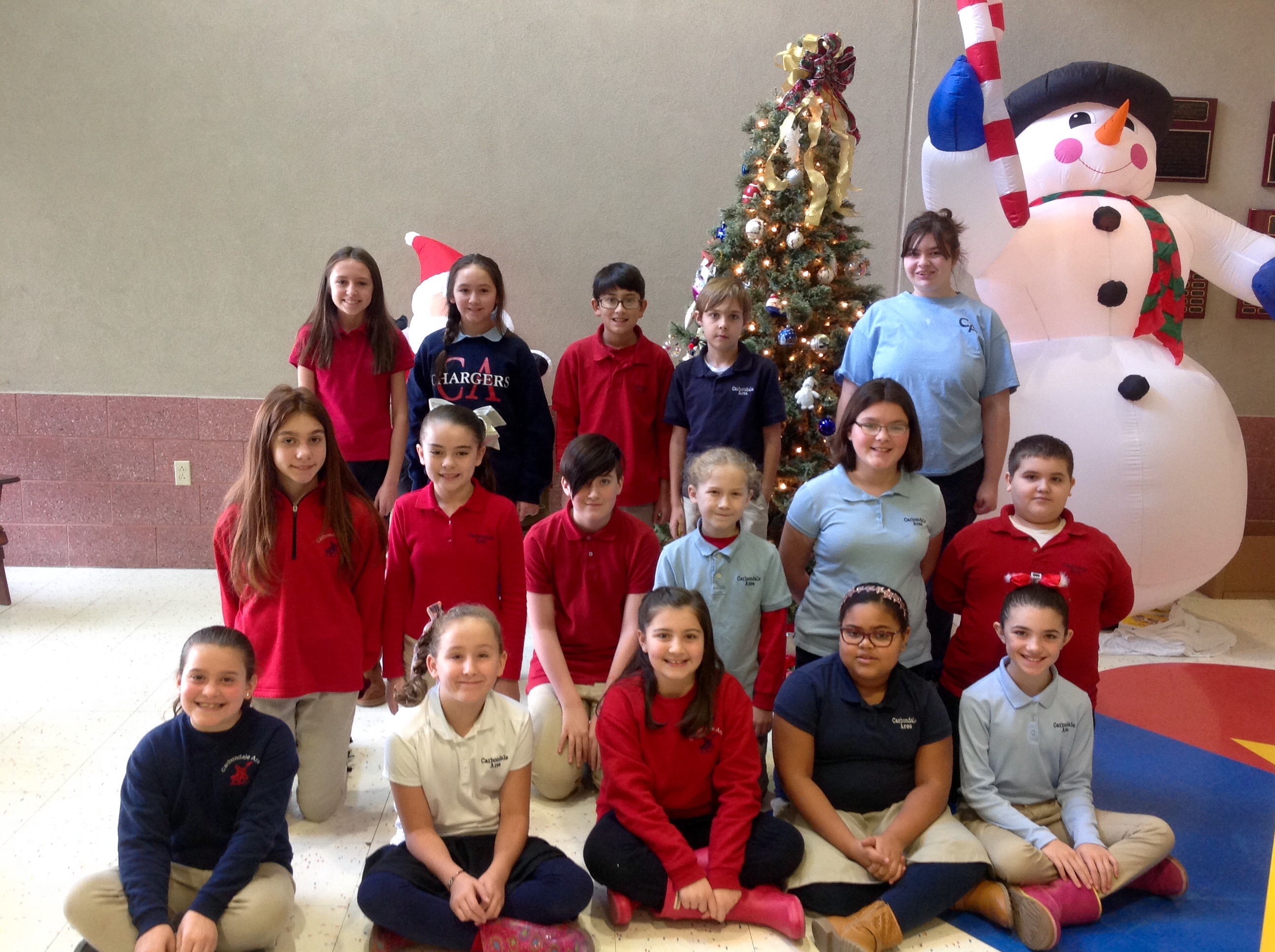 4th-6th Grade Students of the Month for November