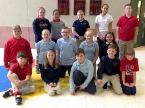 4th-6th Grade Students of the Month for October