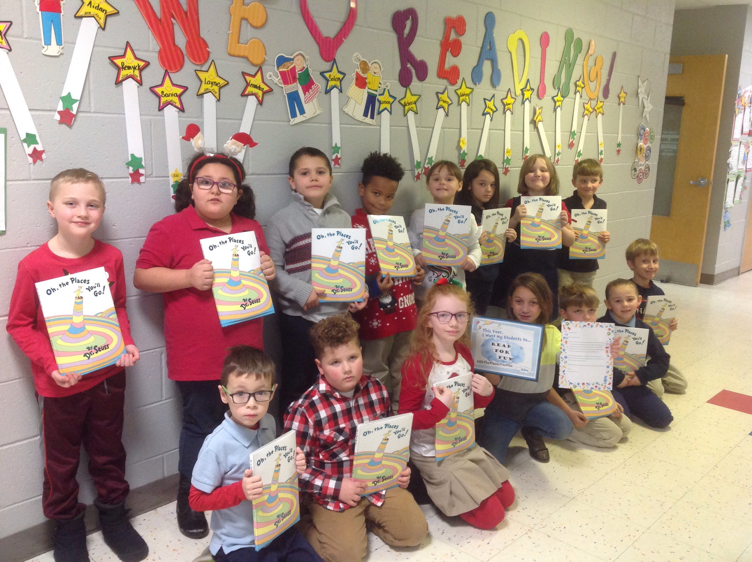 Mrs. Pope's Class Wins Award