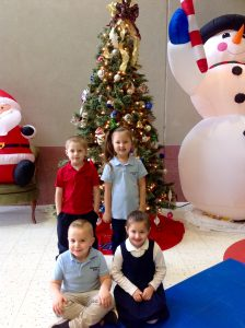 Pre-K and Kindergarten Citizens of the Month for November