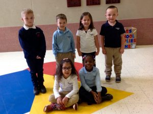 Pre-K and Kindergarten Citizens of the Month for October