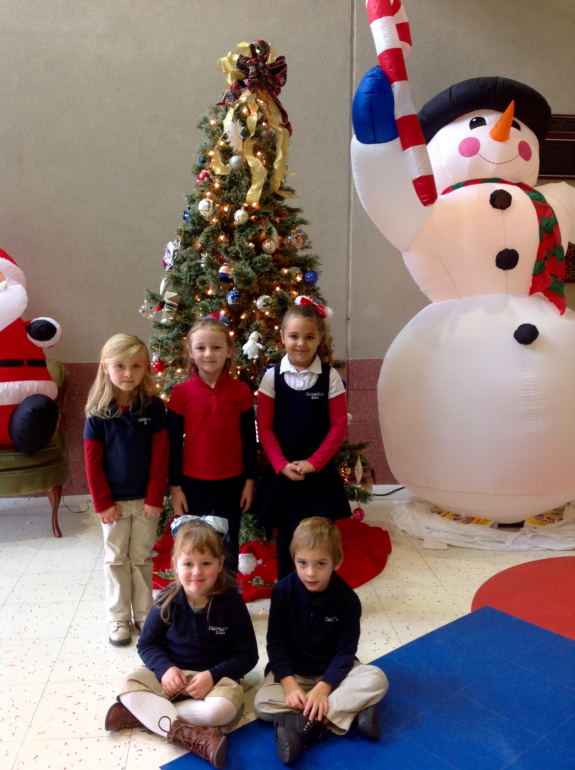 Pre-K and Kindergarten Students of the Month for November