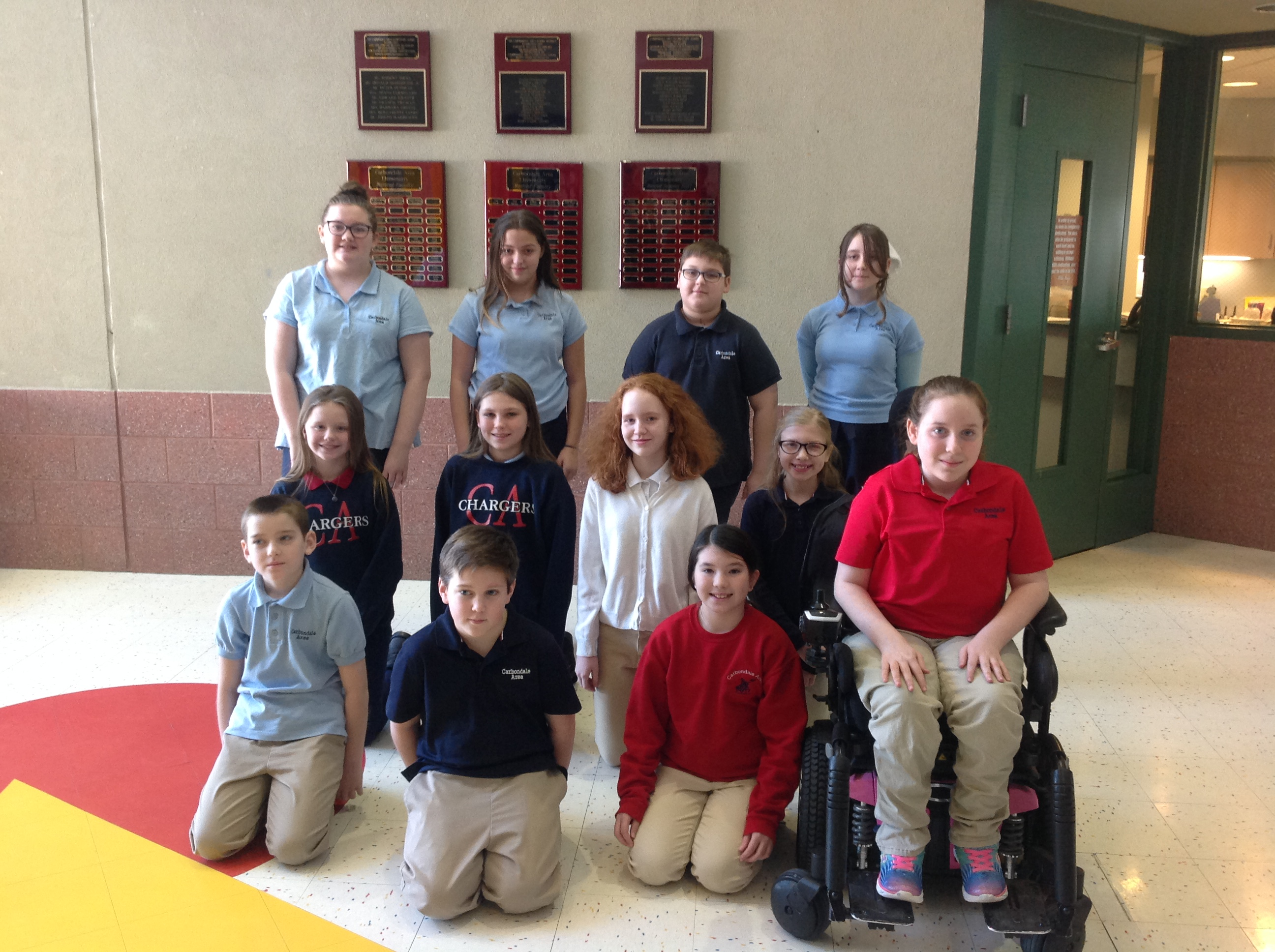 4th-6th Grade Students of the Month for December