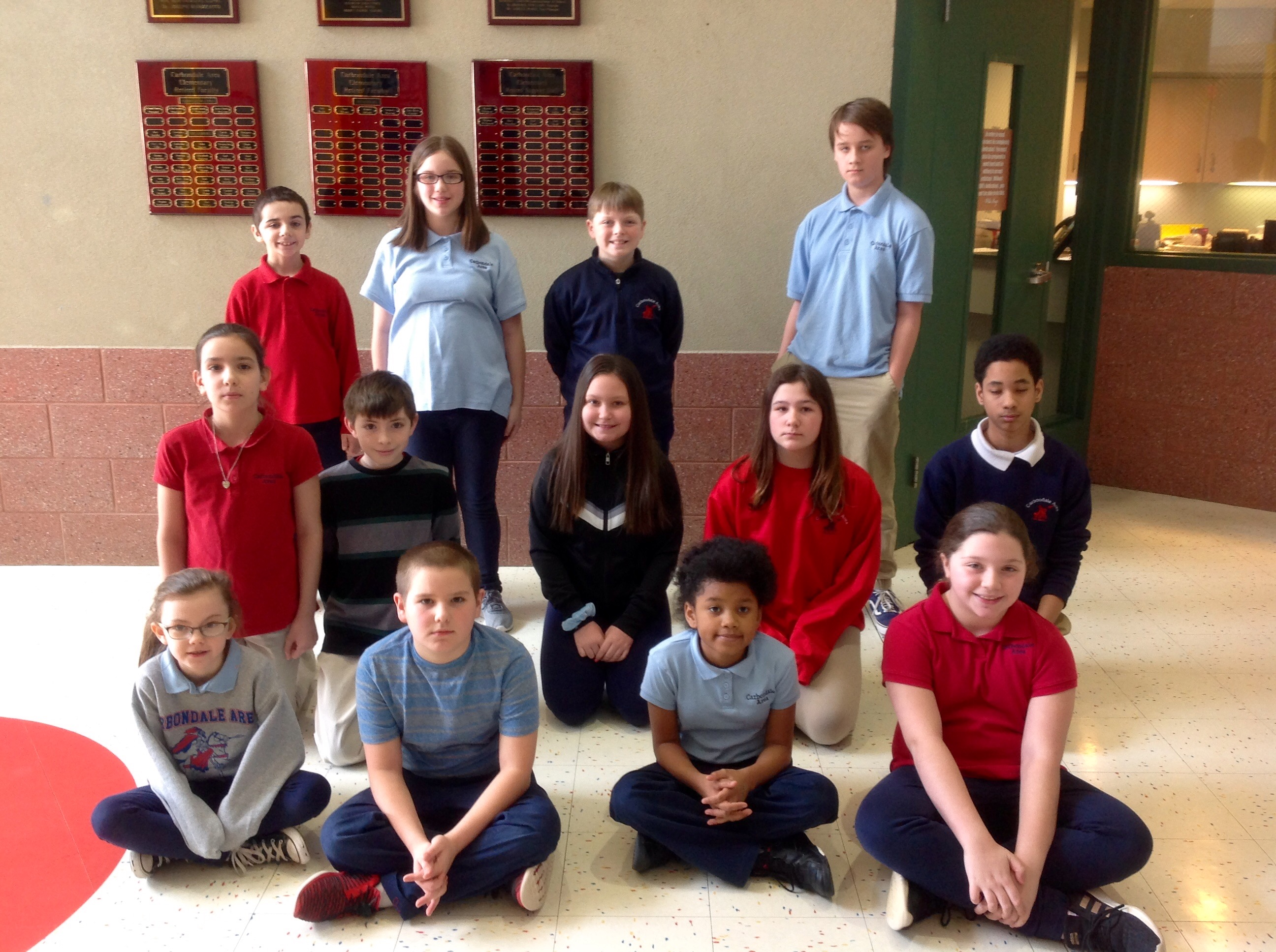 4th-6th Grade Citizens of the Month for January