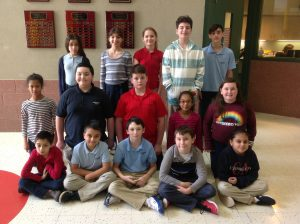 4th-6th Grade Students of the Month for January
