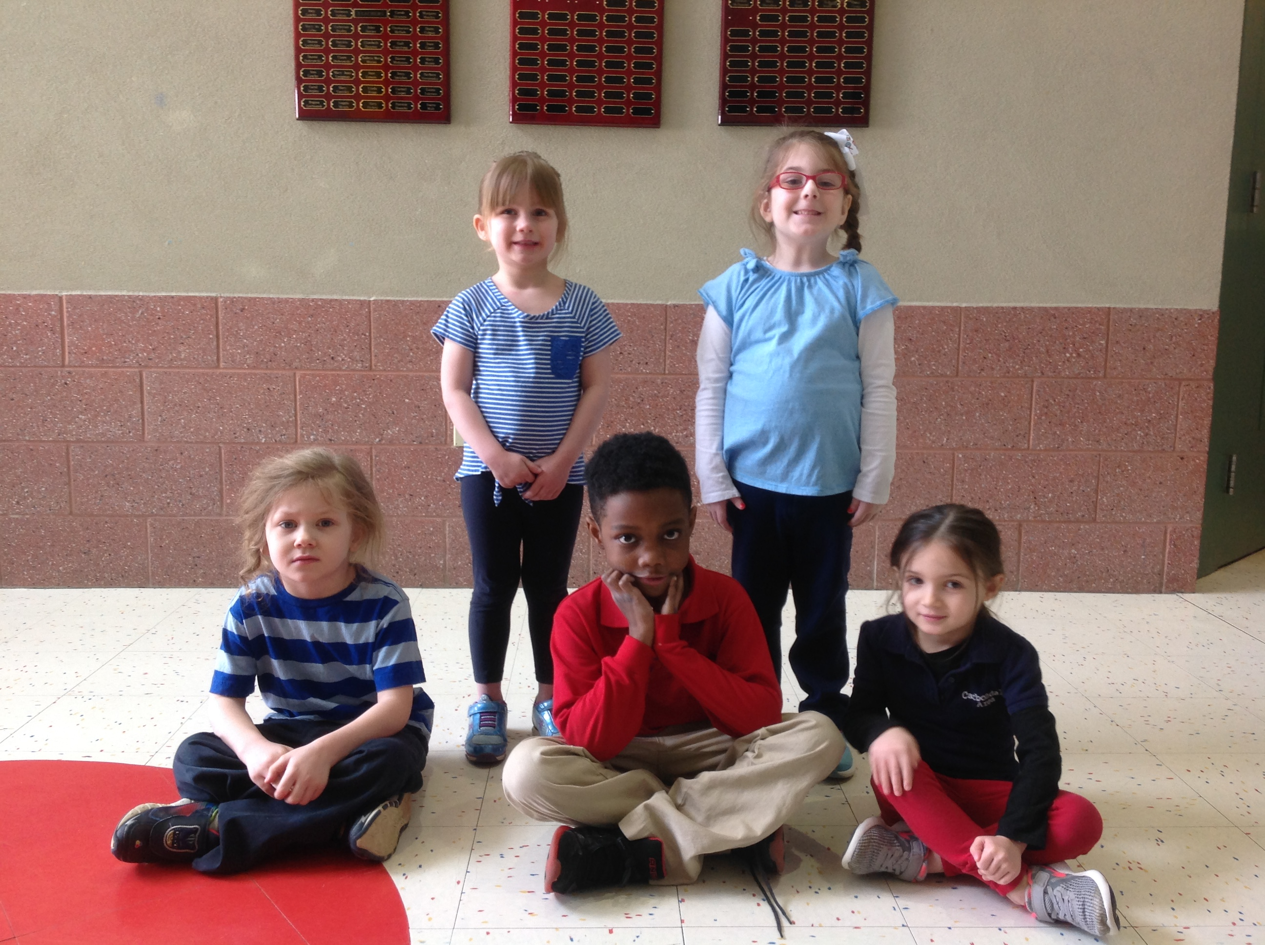 Pre-K & Kindergarten Citizens of the Month for January