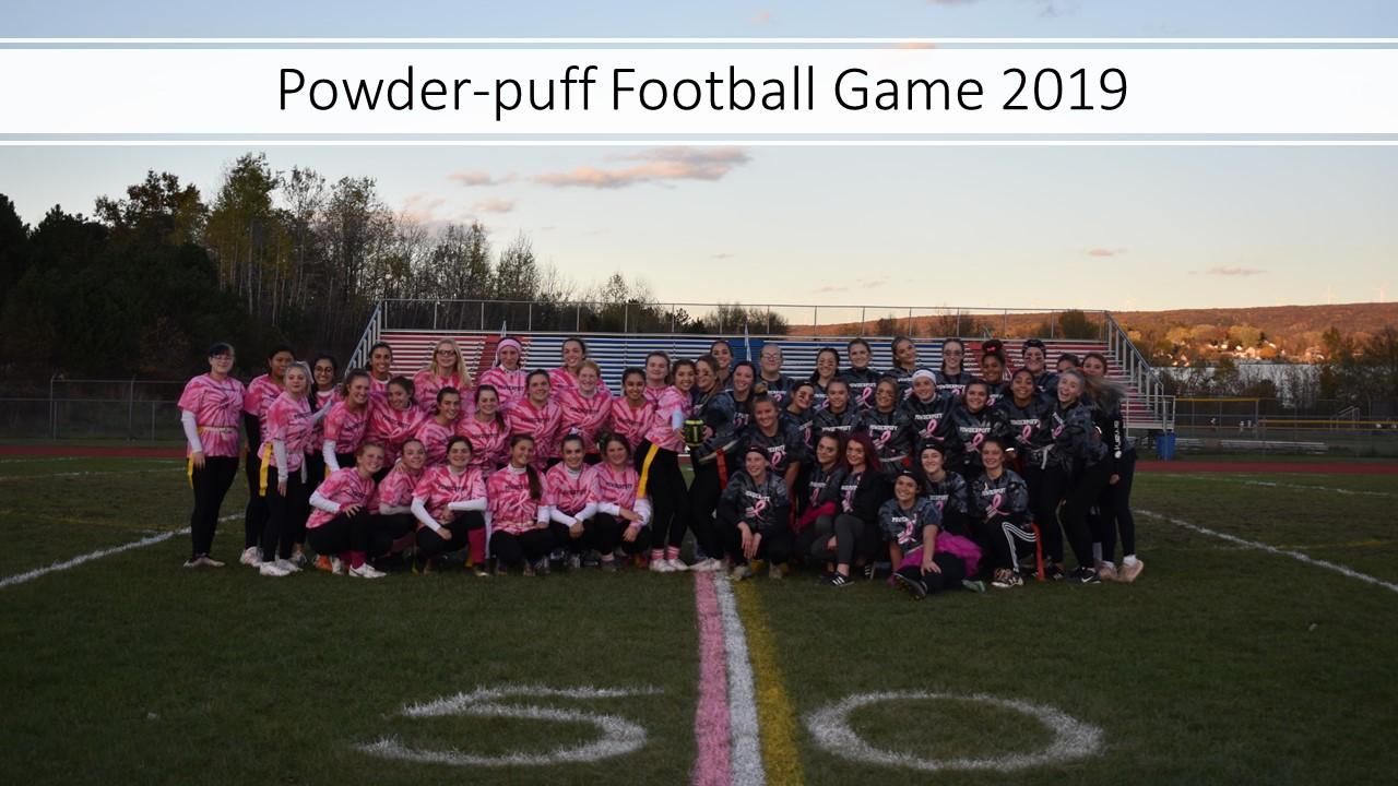 Powder-puff Football Game