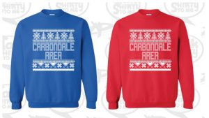 CARBONDALE CHRISTMAS SWEATERS FOR SALE!