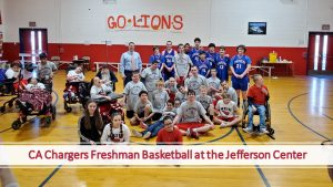 CA Chargers- Freshman Basketball at the Jefferson Center!