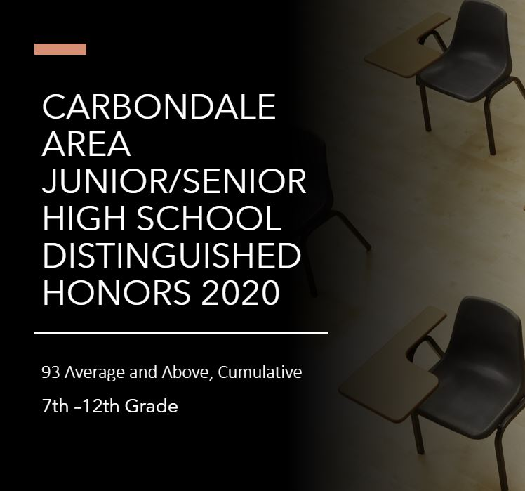 DISTINGUISHED HONORS 2020