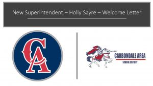 New Superintendent – Holly Sayre – Welcome Letter