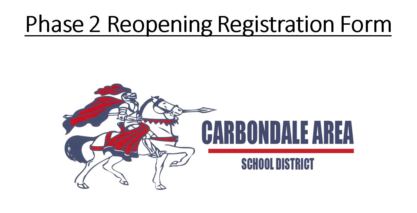 Phase 2 Reopening Registration Form