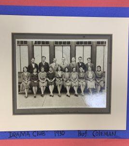 1930 Drama Club Picture- Ben Franklin High School